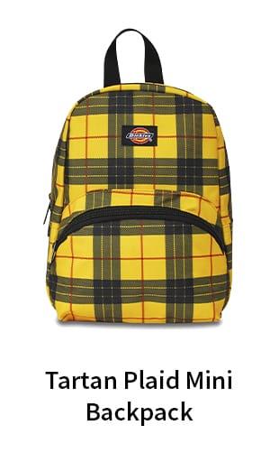Tartan Plaid Mini Backpack