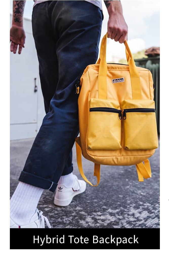 Shop hybrid tote backpack