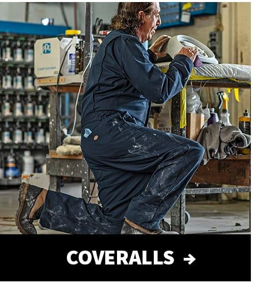 Shop coveralls