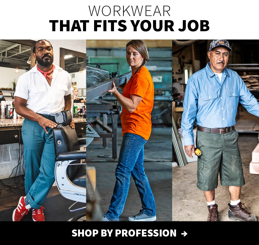 workwear that fits your job