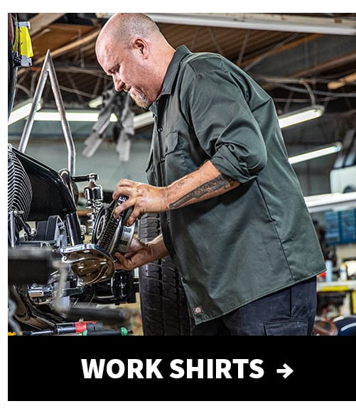Shop work shirts