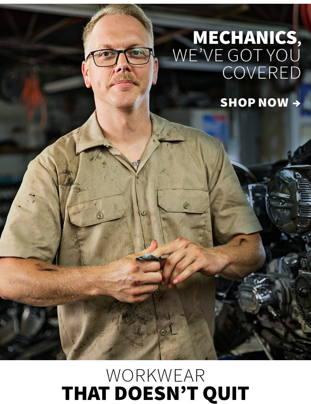 Mechanics, we've got you covered. Shop now